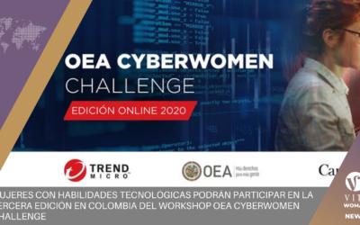Mujeres con habilidades tecnológicas podrán participar en la tercera edición en Colombia del Workshop OEA Cyberwomen Challenge