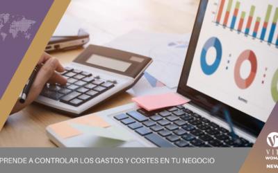 Aprende a controlar los gastos y costes en tu negocio