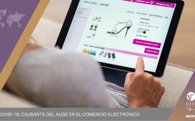 EL COVID-19, causante del auge en el comercio electrónico