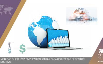 Las medidas que busca emplear Colombia para recuperar el sector productivo