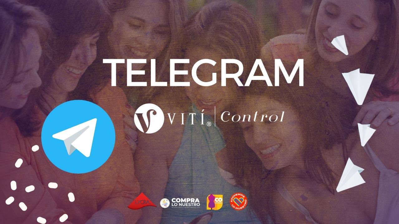 Compra tus fajas por Telegram