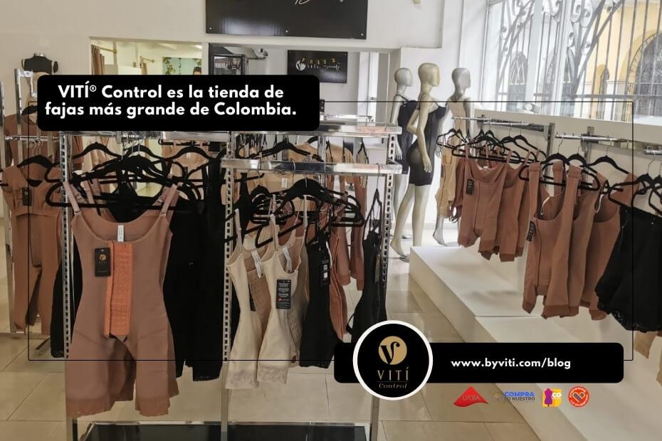 VITÍ® Control es la tienda de fajas más grande de Colombia